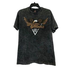 Harley-Davidson Stonewashed Gray T-Shirt Medium